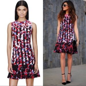 Peter Pilotto Red Blue Flare Dress Target